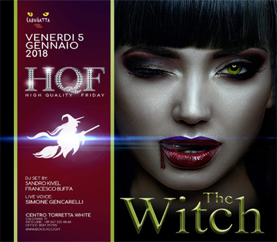 HQF - CARAGATTA - THE WITCH - Boccaccio Club