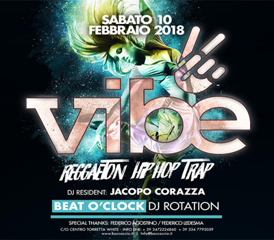 VIBE - BEAT O'CLOCK - Boccaccio Club