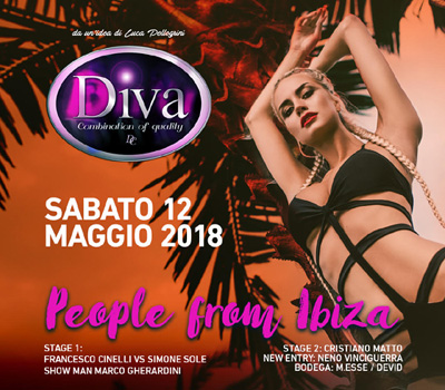 DIVA - PEOPLE FROM IBIZA - Boccaccio Club