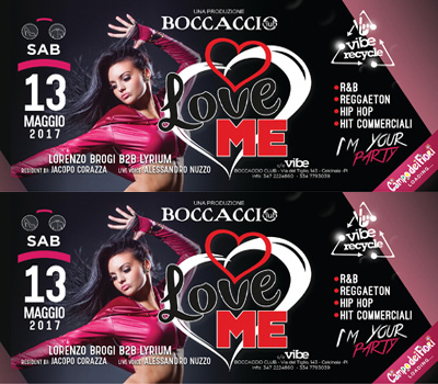 VIBE - VIBE RECYCLE - LOVE ME - Boccaccio Club