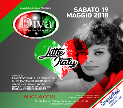 DIVA - LITTLE ITALY - Boccaccio Club