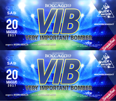 VIBE - VIBE RECYCLE - VIB - Boccaccio Club