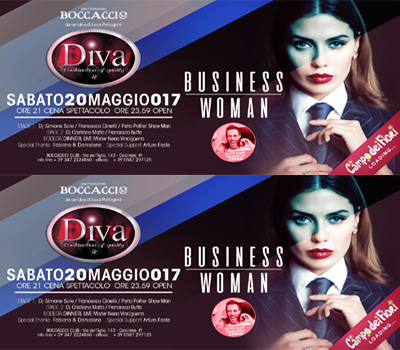DIVA - BUSINESS WOMAN - Boccaccio Club
