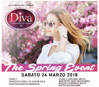 DIVA - THE SPRING EVENT - Boccaccio Club